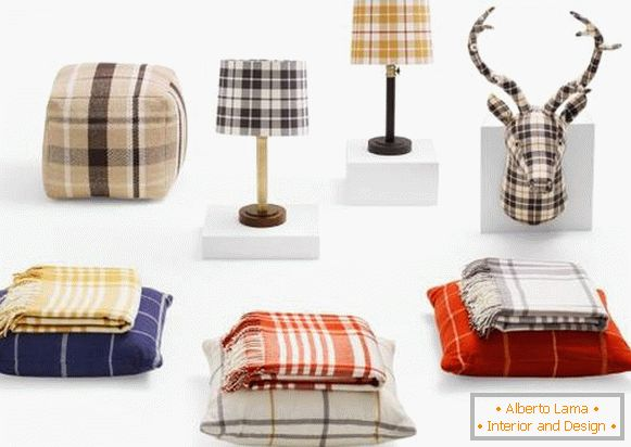 Тренды для дома: Plaid Home Decor от Target (Осень 2015)