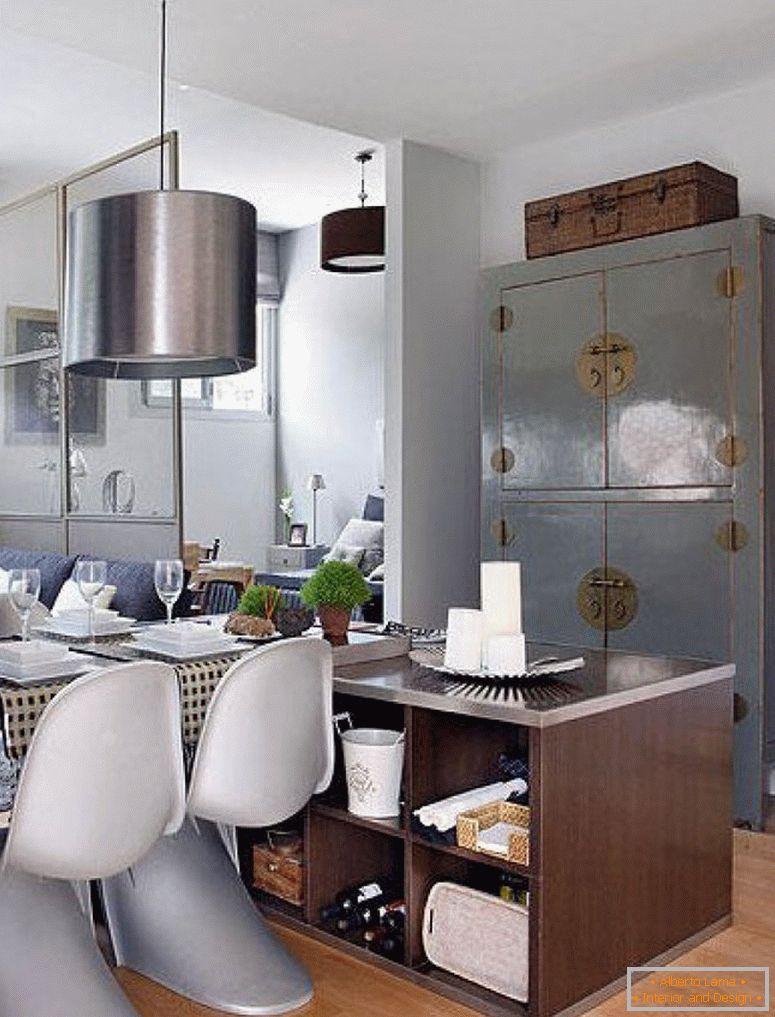 unikalen interior v malk stu n apartament v moderniia stil